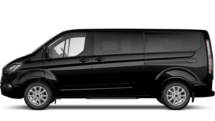 These can accommodate up to 8 passengers plus the driver and 8 suitcases (20kg max) plus hand luggage. Any more luggage or passenger than this will require a larger vehicle. We use modern, air-conditioned vans with GPS tracking system.